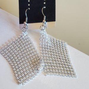 Silver earrings 💖brand new